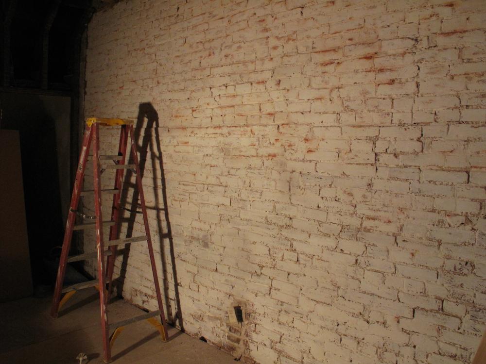 How to: Whitewash Brick