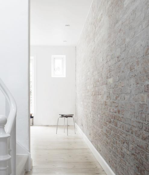 Whitewash Brick Wall: How To: Whitewash Brick