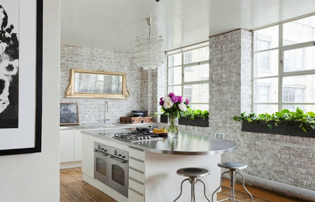 5 Industrial Bathroom Design Ideas To Glam Up Your Home: How To: Whitewash Brick