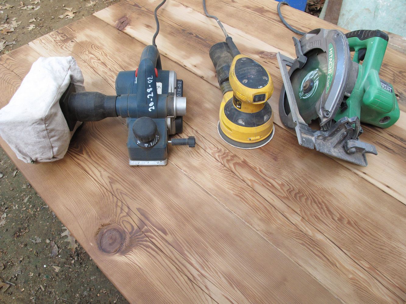 How to: Reclaimed Wood Counter (part II)
