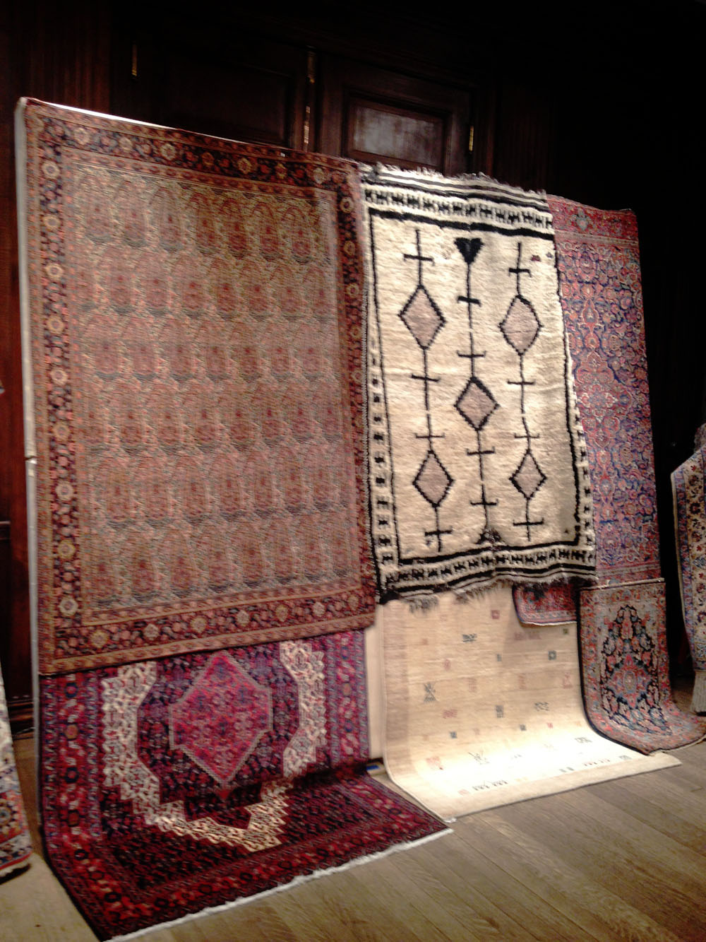 Exotic destinations and their wares: Rugs