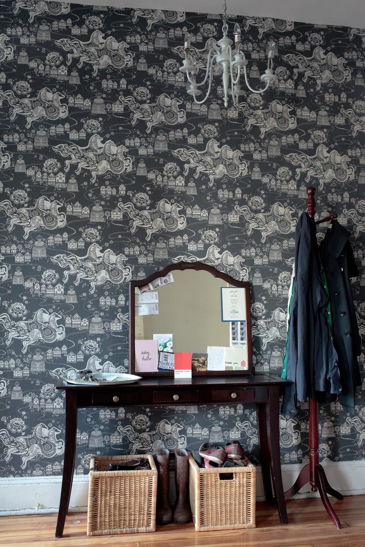 sure strip wallpaper  How to: Wallpaper | Victorian In Bloom