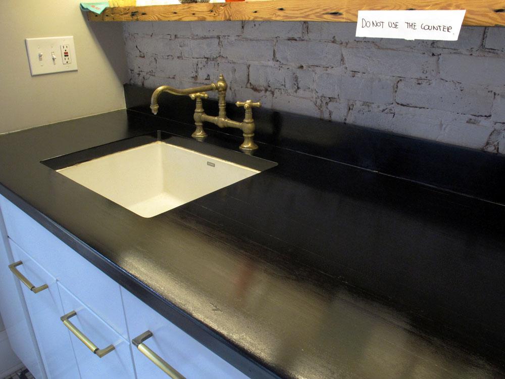 Kitchen Counter Update