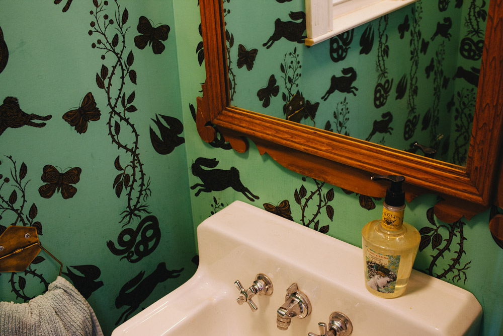 Before and After: Powder Room